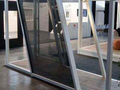 SZ-MSW Parallellogram, de unieke oplossing voor raampartijen met een parallellogram vorm.